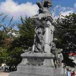 Magellan Denkmal in Punta Arenas an der Magellanstraße, Chile
