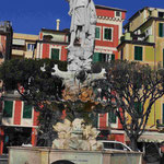 Kolumbusdenkmal in Rapallo, Italien