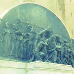 Das Verdi-Denkmal in Parma, Italien