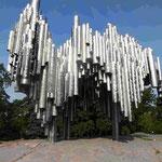 Denkmal des Musikers und Komponisten Jean Sibelius in Helsinki