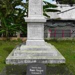 Dankmal für gefallene kaiserliche deutsche Soldaten 1888 auf Samoa