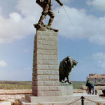Denkmal für Fremdenlegionäre in Bonifacio, Korsika