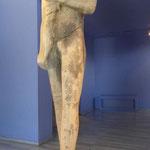 Kouros Statue aus Thassos, Archäologisches Museum, Griechenland