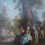 Daniel Chodowiecki: Gesellschaft im Tiergarten zu Berlin, ca. 1770,   Museum der bildenden Künste, Leipzig