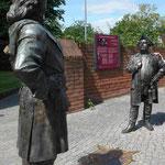 Begegnung zwischen Zar Peter I und dem Soldatenkönig in Havelberg