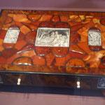 Schatulle aus Bernstein und Elfenbein, Germanisches Nationalmuseum Nürnberg