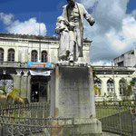 Denkmal in Fort-de-France für den Skalvenbefreier Victor Schölcher, der dies 1848 auf Martinique endlich durchsetzte
