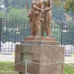 Denkmal für Prinz Dantha und Prinzessin Hemamala, die Buddhas Zahnreliquie nach Ceylon brachte