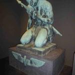 Denkmal für die gefallenen Eisenbahner im 1. Weltkrieg  in der Denkmalsausstellung in der Spandauer Zitadelle