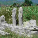 Figurengruppe bei Pytharogio, Samos, Griechenland