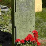 Denkmal an alle Kriegopfer des2. Weltkriegs in Oybin, Sachsen