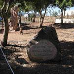Im Garten der Gerechten unter den Völkern in Yad Vashem, Israel