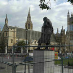 Churchill-Denkmal in Westminster, London