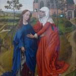 Rogier van der Weyden: Heimsuchung, um 1435,  Museum für Bildende Kunst, Leipzig