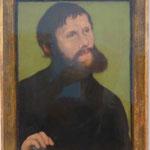 Lucas Cranach d.Ä.: Bildnis Luther als Junker Jörg, 1521,  Museum für Bildende Kunst, Leipzig