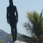 Denkmal für die Indianerin India Catalina, die als Übersetzerin des spanischen Eroberers  Pedro de Heredia zur Gründung der Stadt Cartagena des Indias beitrug