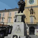 Denkmal für Guiseppe Garribaldi in Parma, Italien