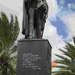 Denkmal für Luis Brion, in Curacao geborener erster General von Groß Kolumbien