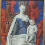 Jean Fouquet: Das Diptychon von Melun, rechte Seite, z.Zt. Gemädegalerie Berlin