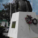 Denkmal für Simon Bolivar in Krajendijk/Bonaire