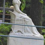 Denkmal für Kaiserin Sissi im Kurpark von Meran, Südtirol