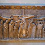 Kreuzesabnahme von Benedetto Antelami um 1230 im Dom zu Parma, Italien