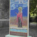 Erinnerung an Lydia, der ersten Frau, die der Apostel Paulus in Europa (Philippi nahe Kavala) getauft haben soll