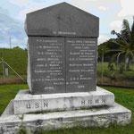 Denkmal für gefallene britische und US- Soldaten 1888 auf Samoa