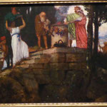 "Arnold Böcklin, ""Opferfest"", Germanisches Nationalmuseum Nürnberg"