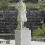 Denkmal für einen Befreiungskämpfer gegen die Osmanen in Nauplia, Griechenland