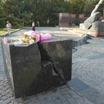 Erdbebendenkmal (24. April 1966) in Taschkent, Usbekistan