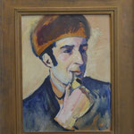 August Macke, Bildnis Franz Marc, ImEx, Nationalgaleri Berlin