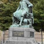 Der Erfinder des Vakuumversuchs Otto von Guericke in Magdeburg