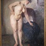 Lovis Corinth, Modellpause, Germanisches Nationalmuseum Nürnberg