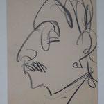Ernst Ludwig Kirchner, Neue Nationalgalerie Berlin, Portrait Liebermann