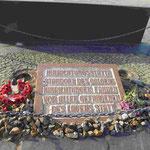 Gedenkstätte KZ-Sachsenhausen, Ort des Galgens auf dem Appellplatz