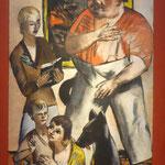 """Max Beckmann, Heinrich George und Familie,""""Welttheater"""", Museum Barberini, Potsdam"""