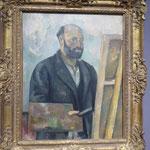 "Paul ""Cézanne - Metamorphosen"", Selbstbildnis,  Kunsthalle Karlsruhe"