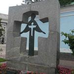 Denkmal für die 1932/33 ca. 3 Mio verhungerten Ukrainer in Kiew