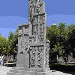 """Das erste Denkmal für den Genozid an 1.5 Mio Armeniern auf dem Gelände des """"Armenischen Vatikans"""" Etschmiadsin"""