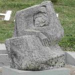 Denkmal für die über 1000 griechischen Ziviliste, die von der deutschen Wehrmacht als Vergeltung für Partisanenangriffe in Kalavitra, Nordpeleponnes, ermordet wurden