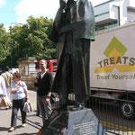 """Sherlock Holmes"" Denkmal in London"