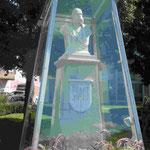 Denkmal für Franz-Josef I in Gmunden am Traunsee