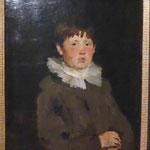 """Wilhelm Leibl, """"Junge mit Halskrause"""", Germanisches Nationalmuseum Nürnberg"""