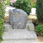 Denkmal für Antoine Saint Exupery in St. Tropez, Südfrankreich