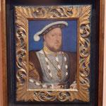 Hans Holbein, Bildnis Heinrich  VIII., Museo Thyssen-Bornemisza, Madrid, Spanien