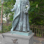 Denkmal für den letzten k.u.k. Kaiser Karl I., der von 1916 bis 1918 regierte und im Exil auf Madeira verstarb