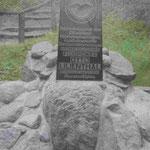 Denkmal an der Absturzstelle von Otto Lilienthal bei Stölln, Brandenburg
