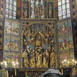 Marienaltar des Veit Stoß, Marienkirche, Krakau, Polen