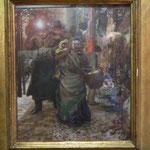 Adolf Menzel: Straßenszene in Berlin, Märkisches Museum Berlin